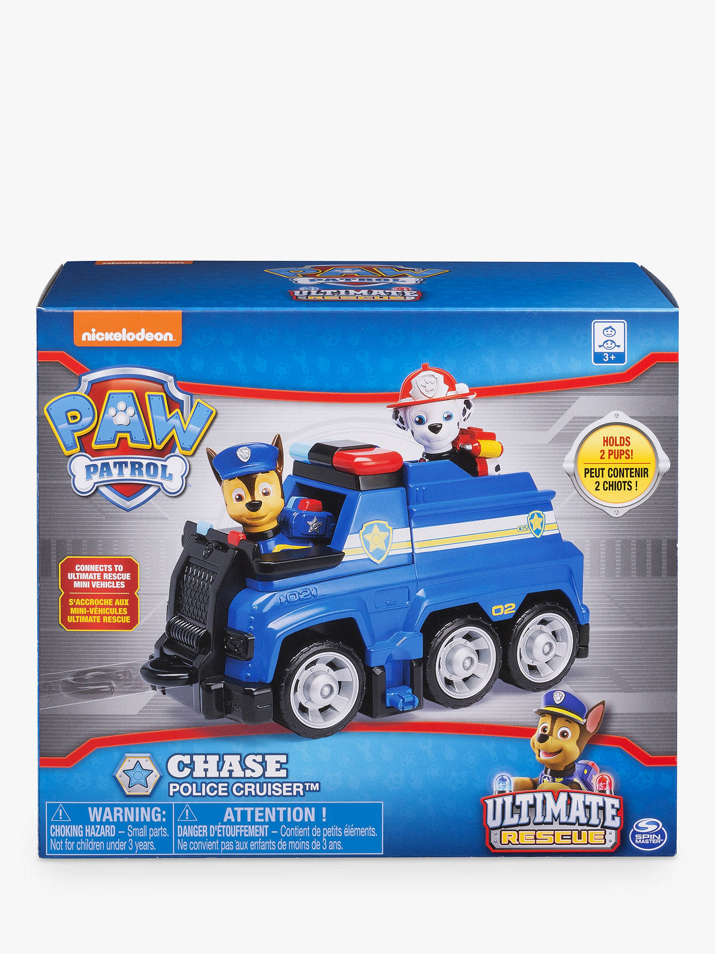 Buy Paw Patrol Chase's Ultimate Rescue Police Cruiser Online at johnlewis.com