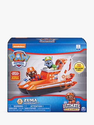 Paw Patrol Zuma's Ultimate Rescue Hovercraft