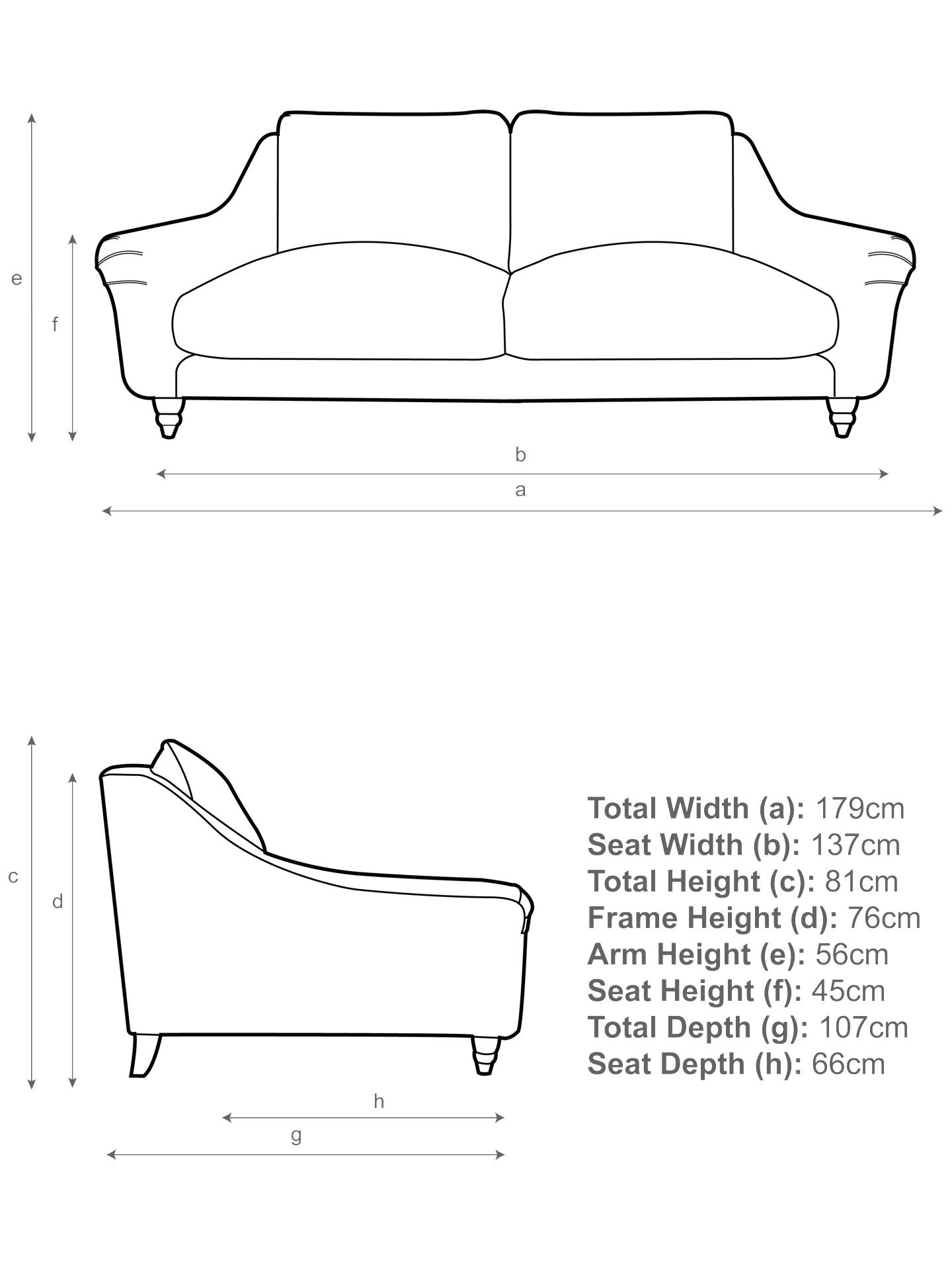 Buy Schmoozer Medium 2 Seater Sofa by Loaf at John Lewis, Clever Velvet Bumblebee Online at johnlewis.com