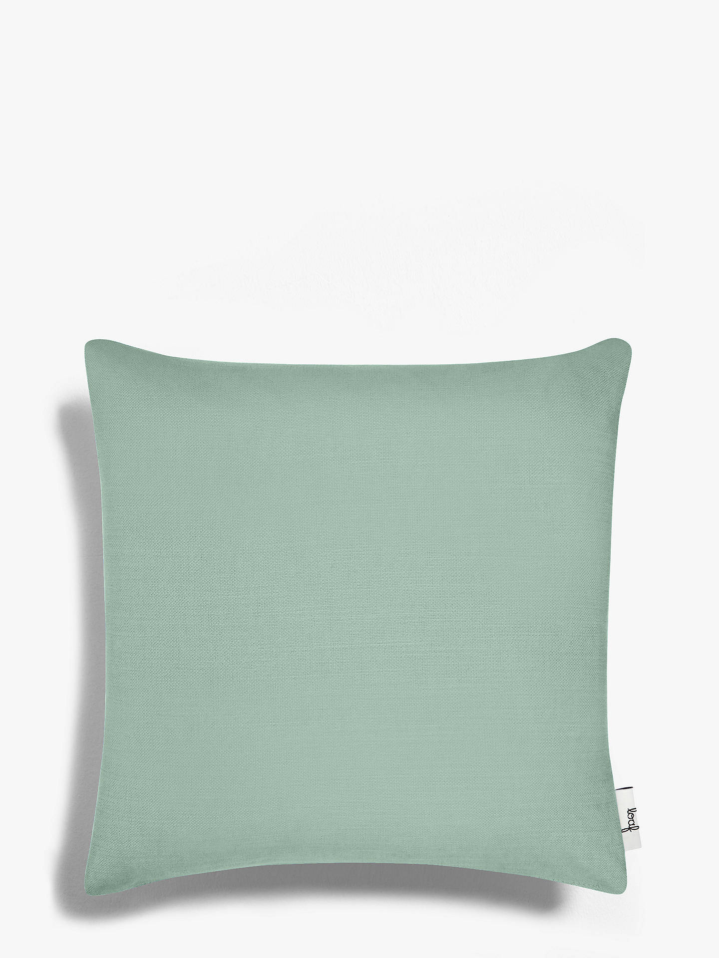 Buy Square Scatter Cushion by Loaf at John Lewis, Clever Softie Soft Green Online at johnlewis.com