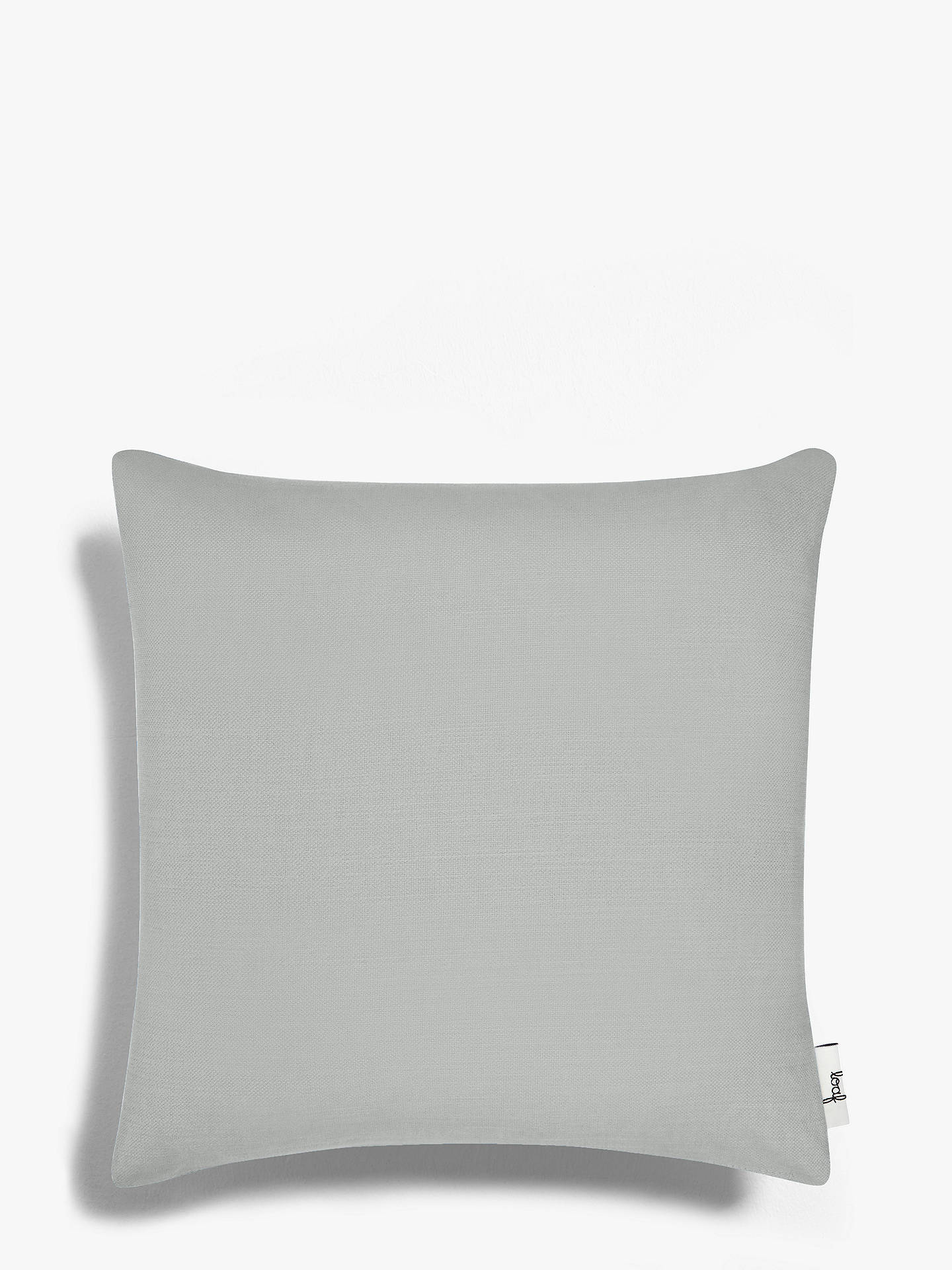 BuySquare Scatter Cushion by Loaf at John Lewis, Clever Softie Pewter Online at johnlewis.com
