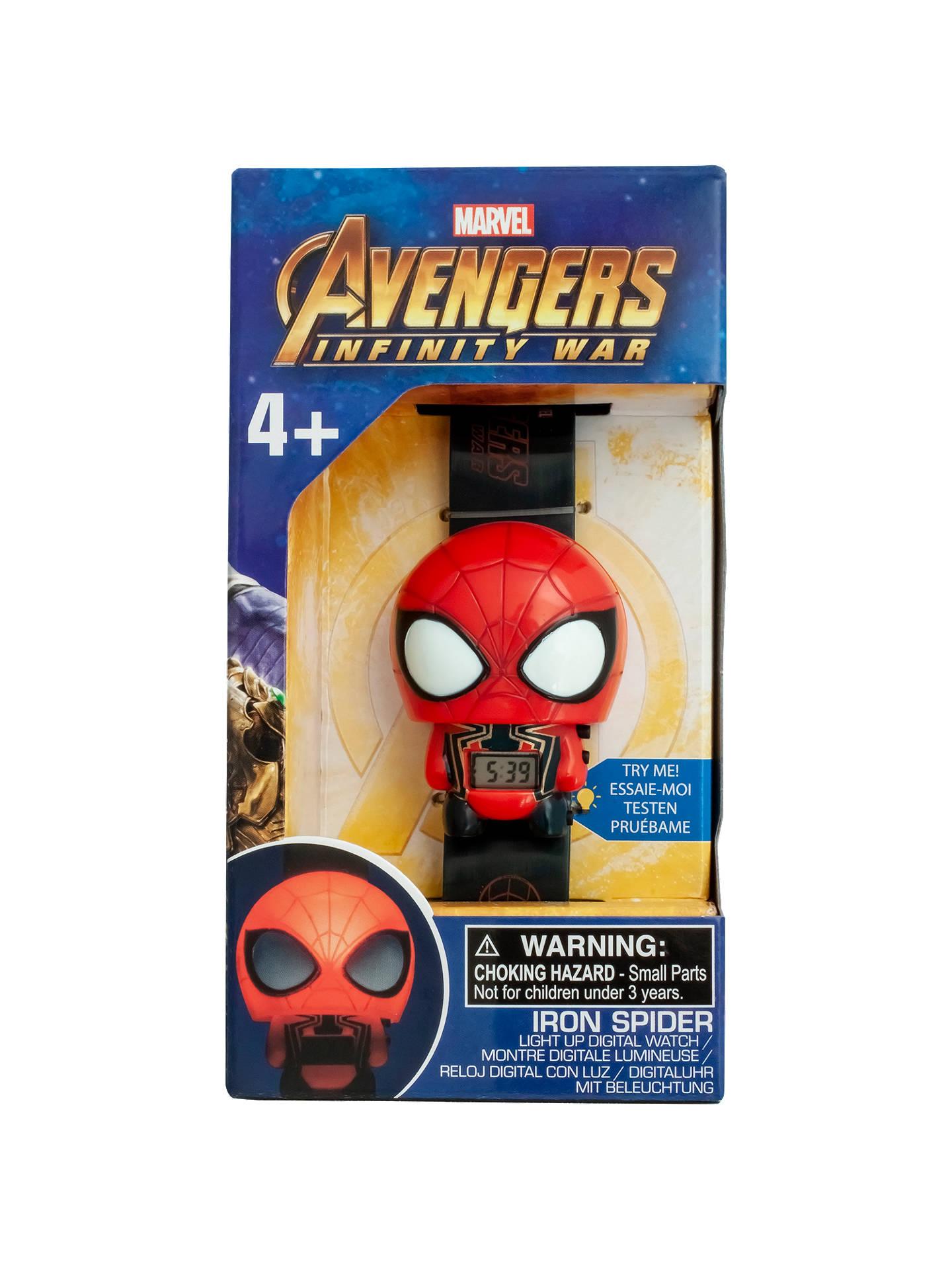 ca676c45f57f Buy BulbBotz Marvel Avengers  Infinity War Iron Spider Light-Up Watch  Online at johnlewis ...