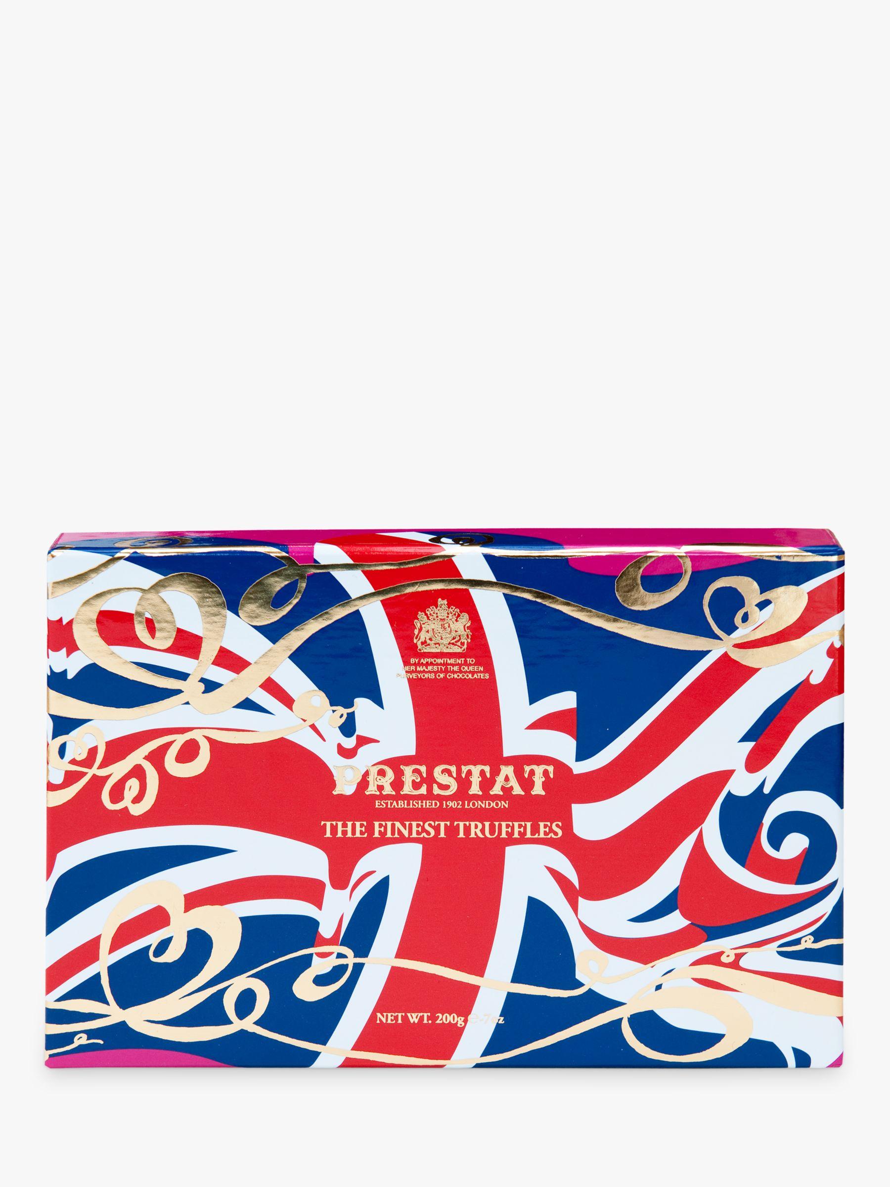 Prestat Prestat Union Jack Truffle Box, 200g