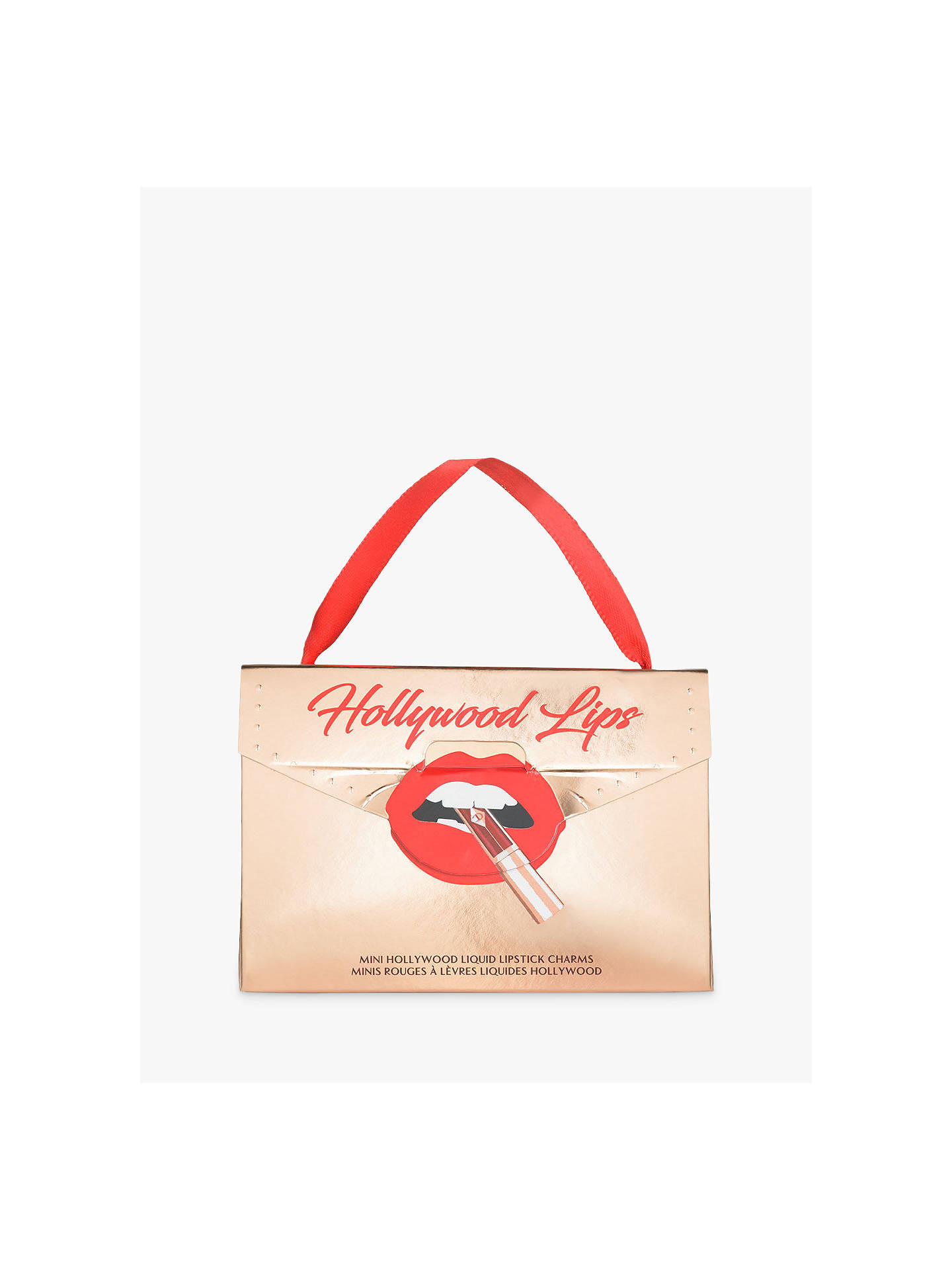 Buy Charlotte Tilbury Mini Hollywood Lips Duo Limited Edition Gift Set Online at johnlewis.com