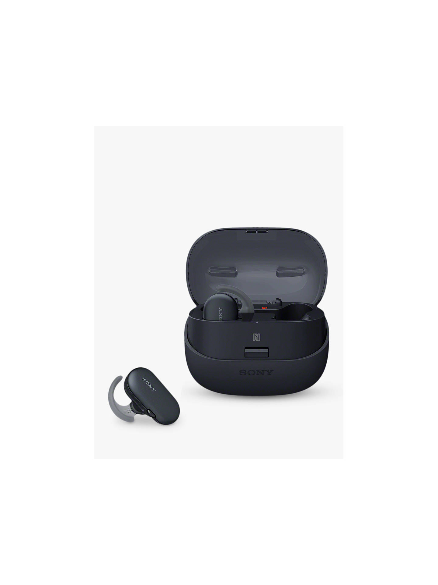 BuySony WF-SP900 True Wireless Bluetooth NFC Waterproof Sports In-Ear Headphones with 4GB Memory & Mic/Remote, Black Online at johnlewis.com