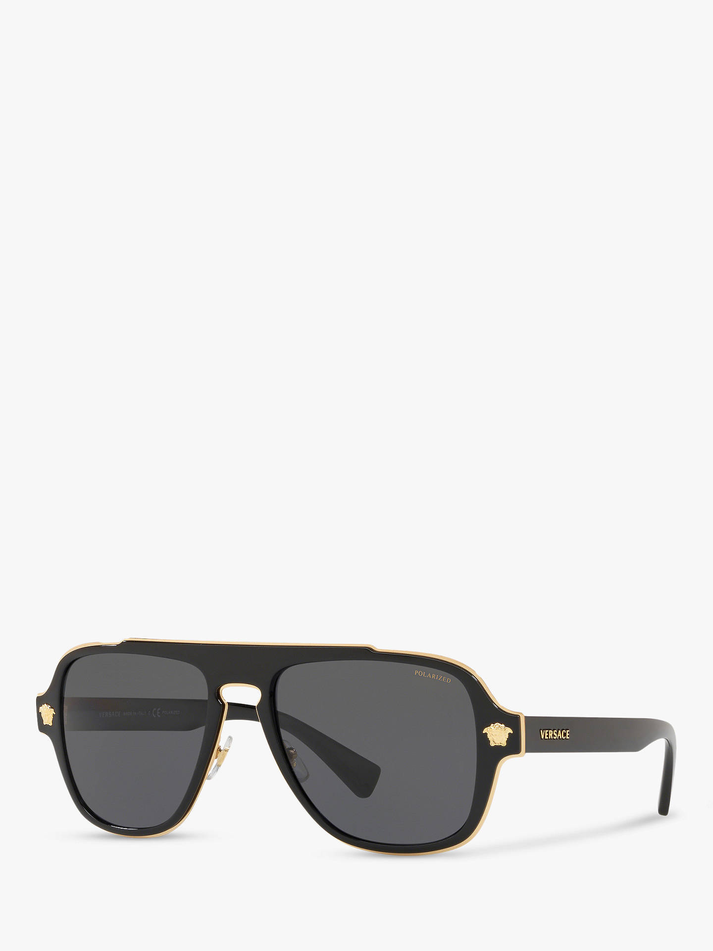 038261f3c8d2 Buy Versace VE2199 Men s Polarised Geometric Sunglasses