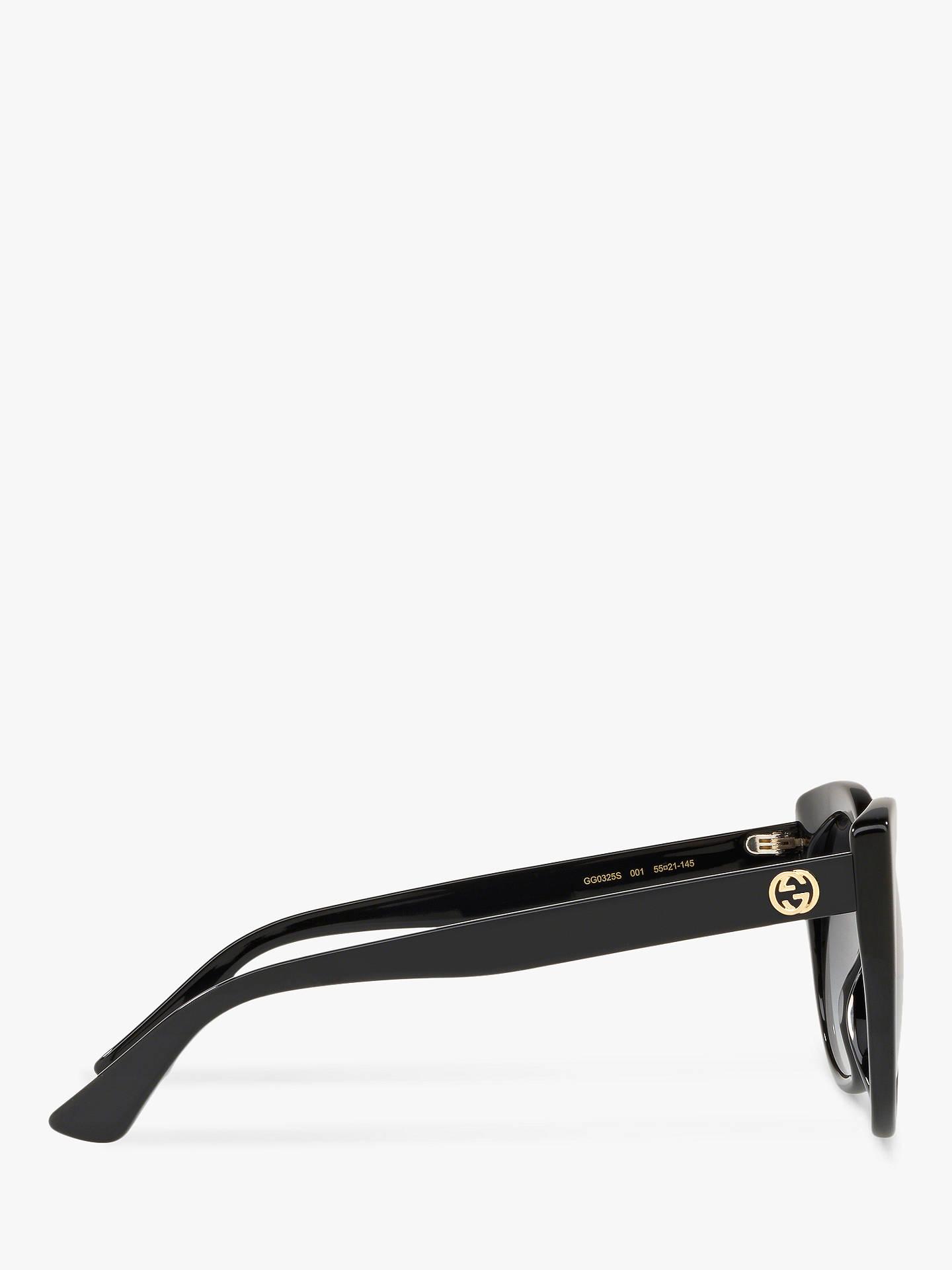 29fff2543431d Gucci GG0325S Women s Cat s Eye Sunglasses at John Lewis   Partners