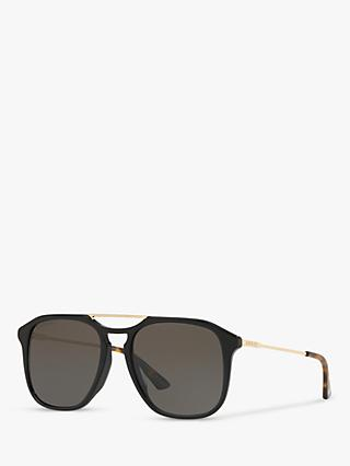 Gucci GG0321S Men's Polarised Aviator Sunglasses
