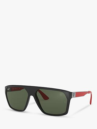 9204ecab6c5376 Ray-Ban RB4309M Men s Scuderia Ferrari Collection Square Sunglasses