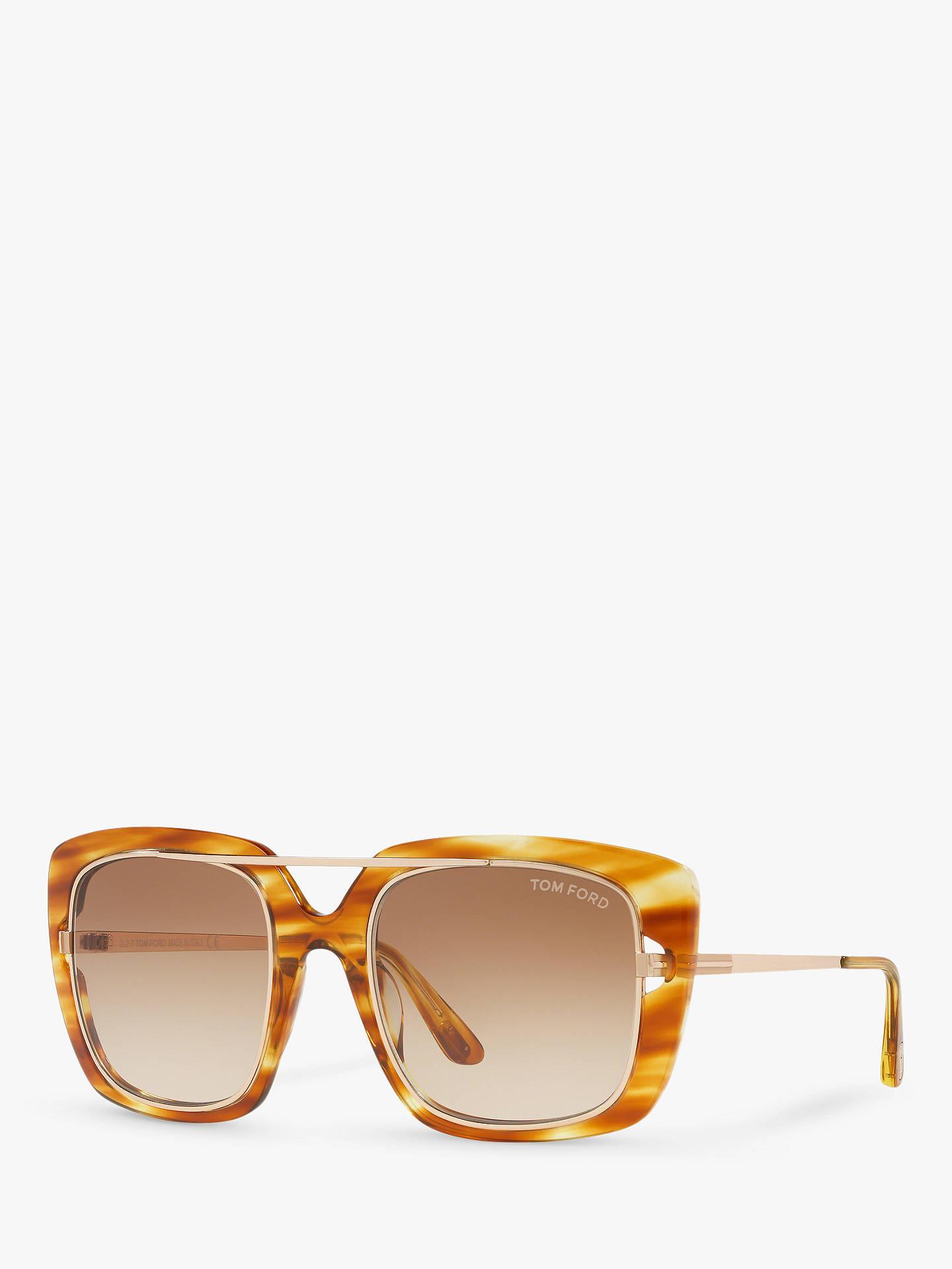 29f4e79c21 Buy TOM FORD FT0619 Unisex Marissa Square Sunglasses