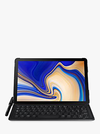 Samsung Galaxy Tab S4 Keyboard Book Cover, Black