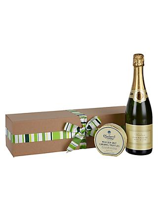 Hampers build your own traditional luxury hampers john lewis waitrose partners champagne and truffles gift box solutioingenieria Image collections