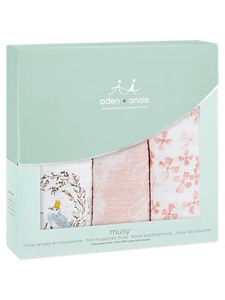 aden + anais Muslin Musy Cloths, Pack of 3, Birdsong