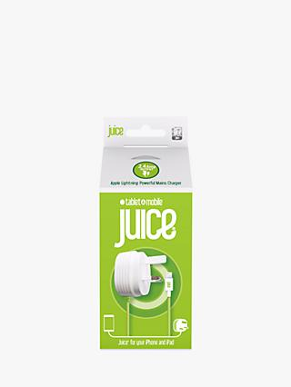 Juice Power Delivery Plug to Lightning Connector, 2.4 Amp, Green