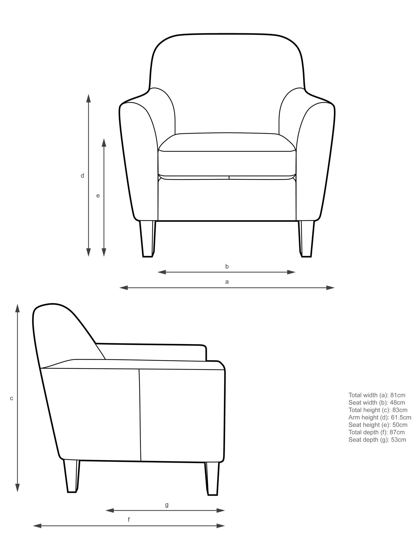 Wondrous John Lewis Partners Connor Leather Armchair Dark Leg Contempo Castanga Inzonedesignstudio Interior Chair Design Inzonedesignstudiocom