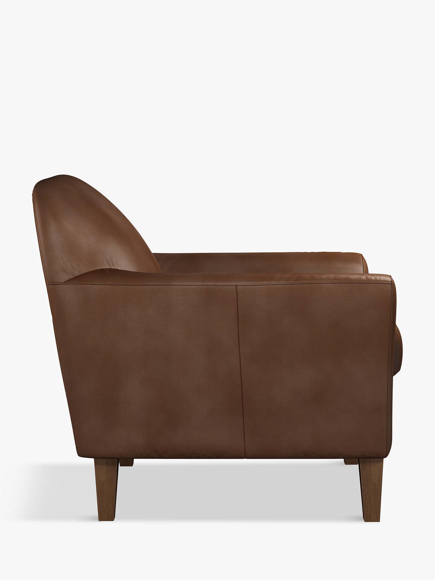 Astonishing John Lewis Partners Connor Leather Armchair Dark Leg Contempo Castanga Inzonedesignstudio Interior Chair Design Inzonedesignstudiocom