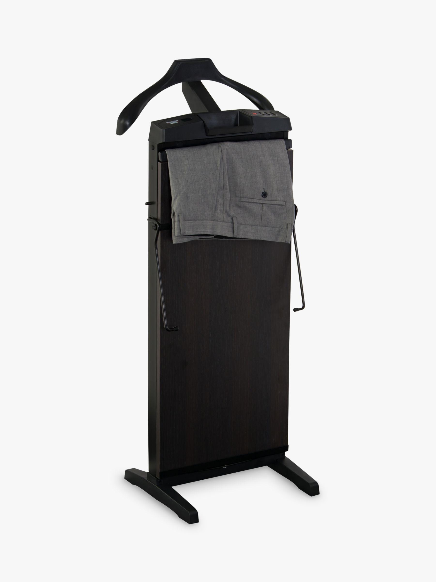Corby 7700 Trouser Press Black Brown Sorano Oak At John Lewis Partners