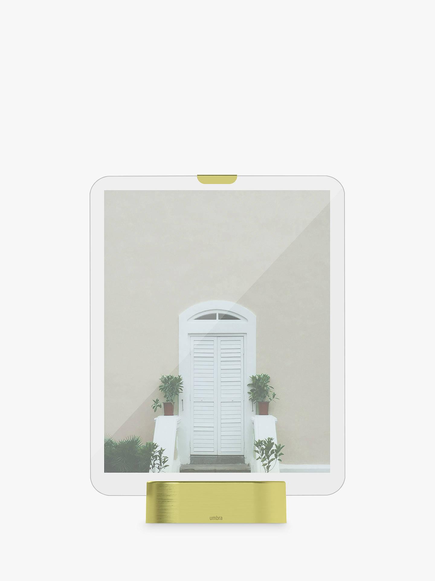Umbra Glo LED Freestanding Photo Frame, 8 x 10