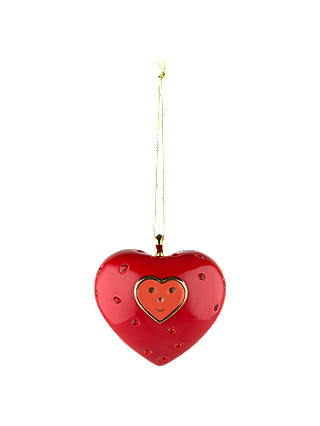 Buy Alessi 'Cuore e Cuora' Bauble Online at johnlewis.com