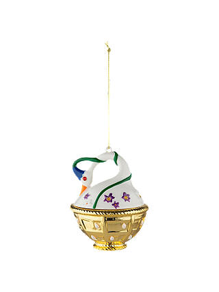 Buy Alessi 'Cigno Di Primavera' Bauble Online at johnlewis.com