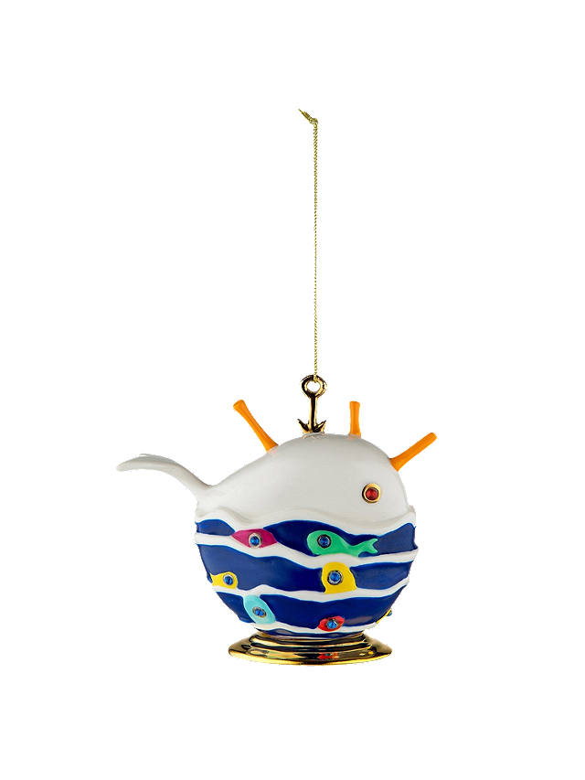 Buy Alessi 'Bianca La Balena Buona' Bauble Online at johnlewis.com