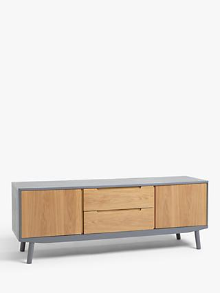 a5b0e146f5fb House by John Lewis Bow TV Stand Sideboard for TVs up to 70