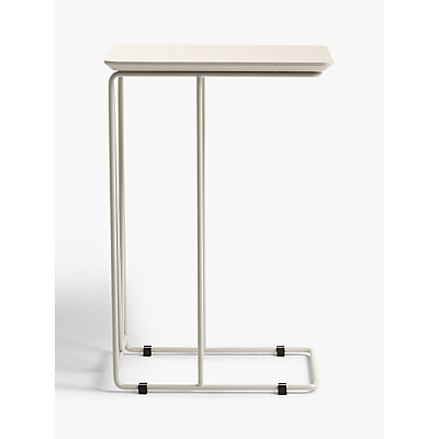 House by John Lewis Insert Laptop Side Table, Cool Grey