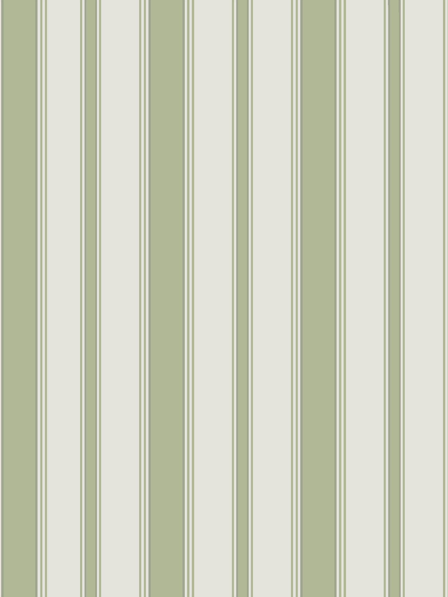 Cole Son Cambridge Stripe Wallpaper 110 8038 Leaf Green