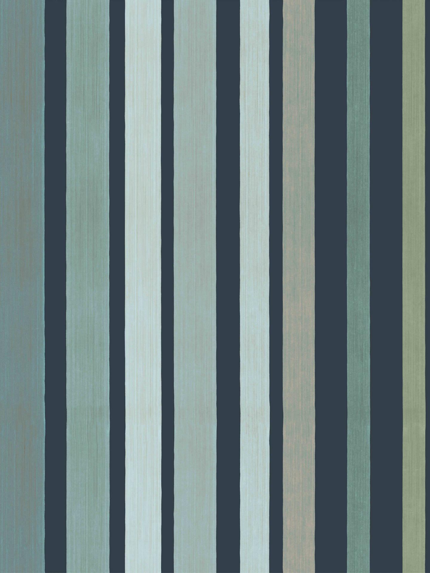 Cole Son Carousel Stripe Wallpaper 110 9041 Frosty Green
