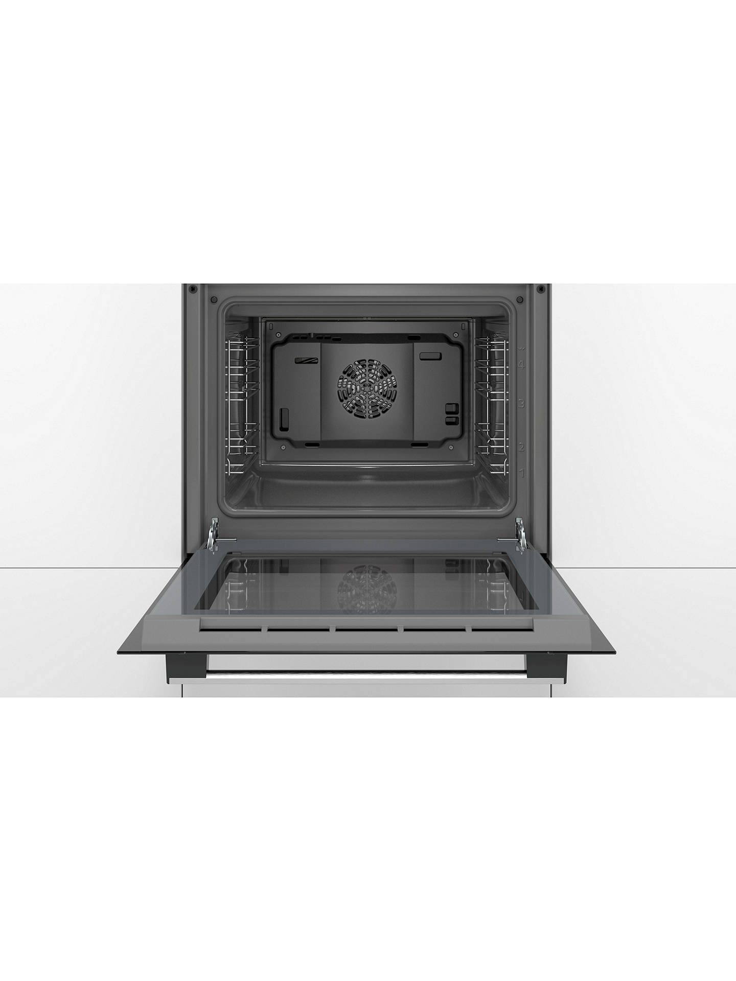 BuyBosch HHF113BR0B Integrated Electric Single Oven, Grey Online at johnlewis.com