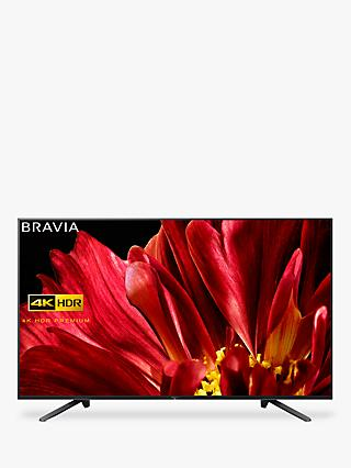 "Sony Bravia KD65ZF9 LED HDR 4K Ultra HD Smart Android TV, 65"" with Freeview HD & Youview, Black"