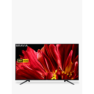 Sony Bravia KD75ZF9 LED HDR 4K Ultra HD Smart Android TV, 75 with Freeview HD & Youview, Black