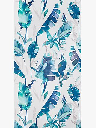 John Lewis & Partners Aralia Wallpaper, Navy