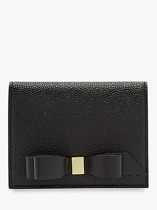 Ted Baker Eloy Leather Small Purse Black