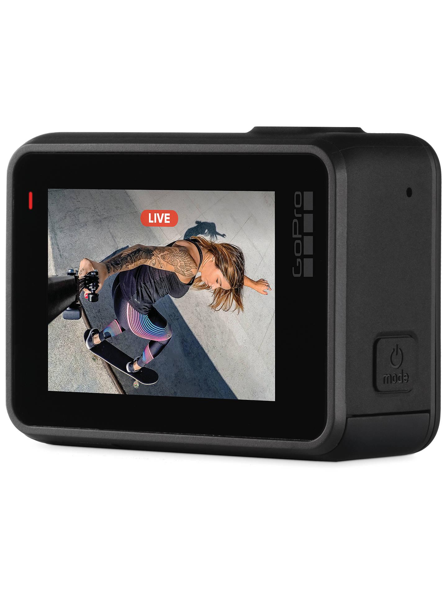 GoPro HERO7 Black Camcorder, 4K Ultra HD, 60 FPS, 12MP, Wi-Fi, Waterproof,  GPS