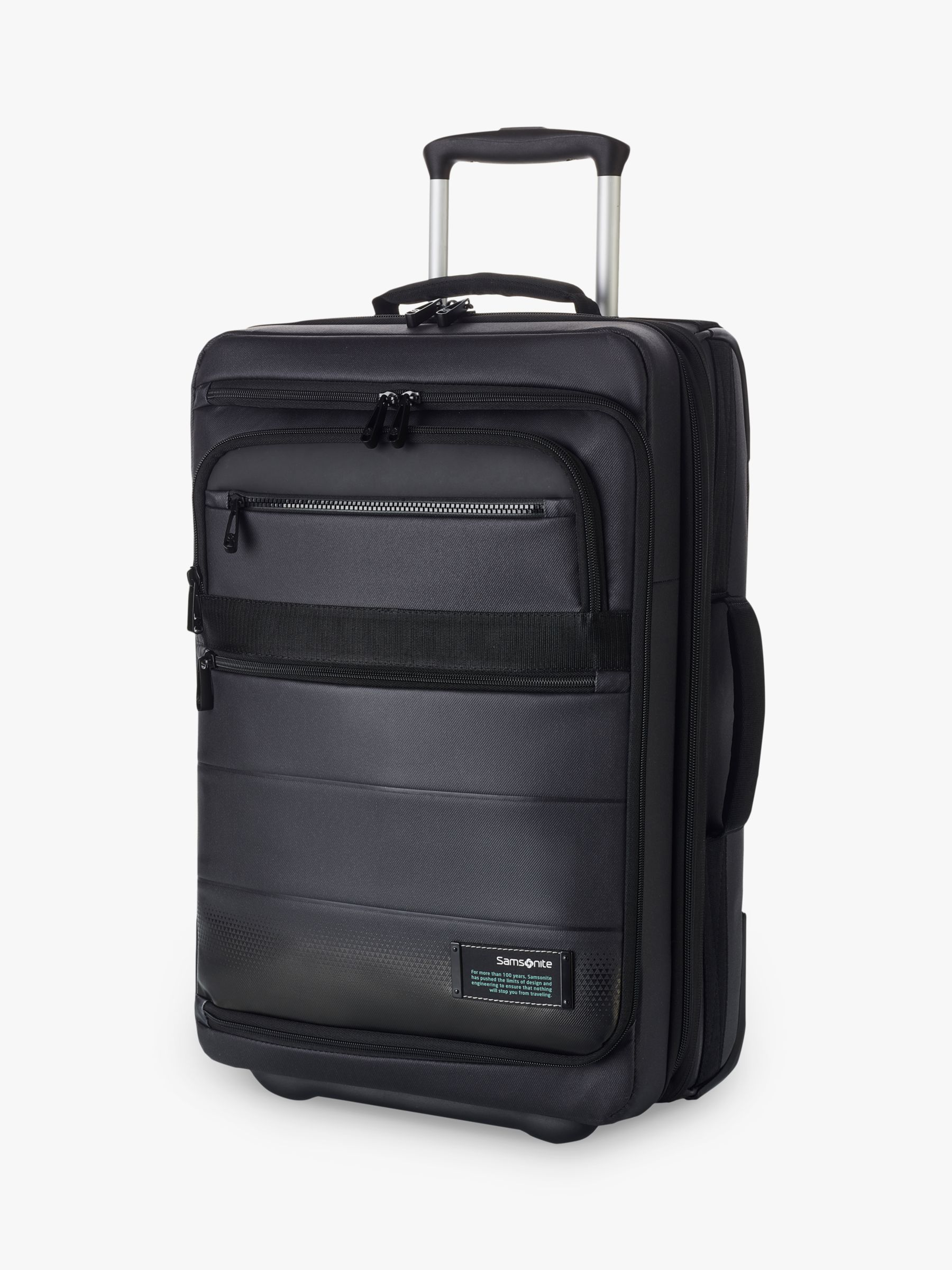 Samsonite Samsonite Cityvibe 2.0 Wheeled Office Bag, Jet Black