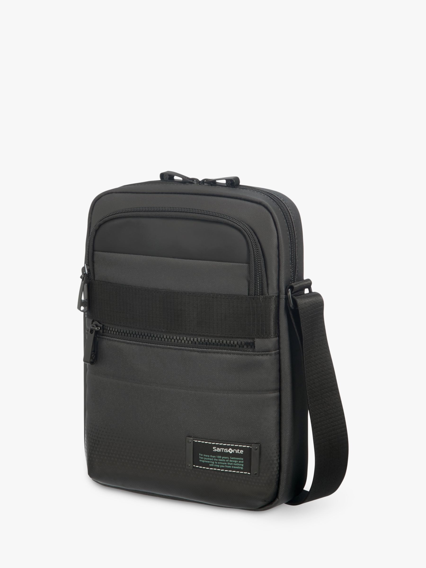 Samsonite Samsonite Cityvibe 2.0 Tablet Cross Body Bag, Jet Black