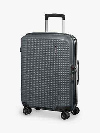 Samsonite Pixon 4-Wheel 55cm Cabin Case, Graphite