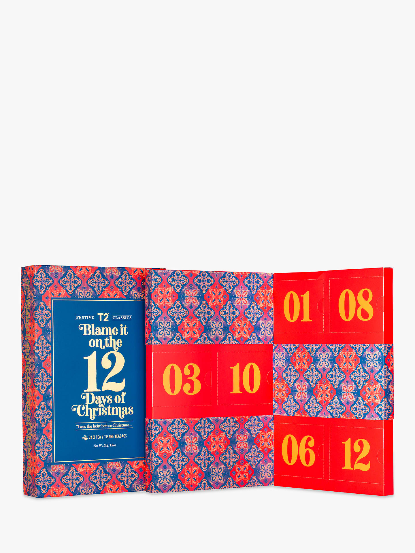 BuyT2 12 Days Of Christmas Advent Calendar Online at johnlewis.com