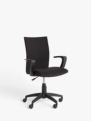 John Lewis & Partners Gerard Office Chair, Black