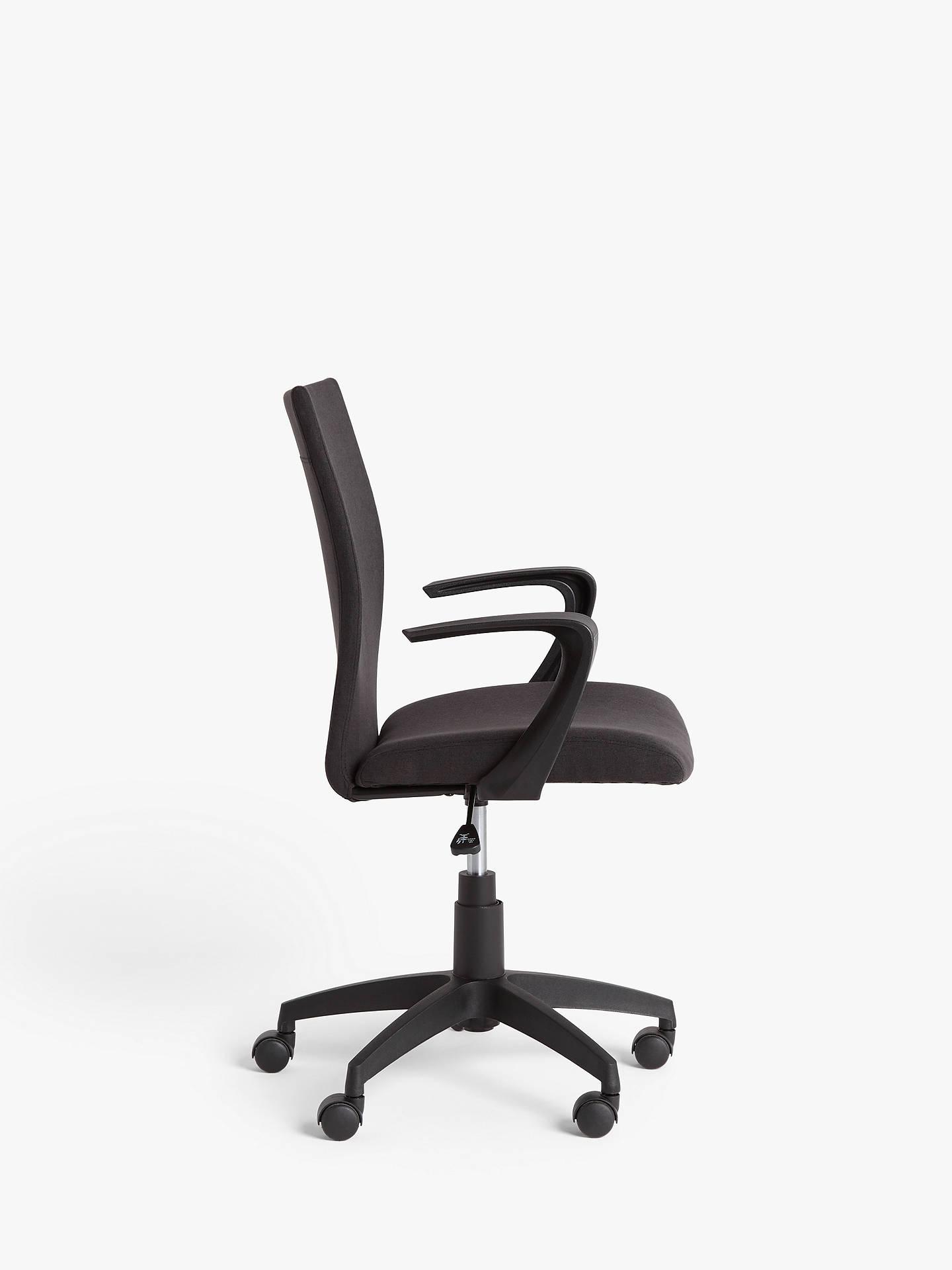 John Lewis Partners Gerard Office Chair Black At John Lewis Partners