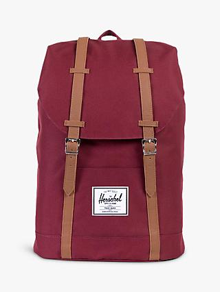 Herschel Supply Co. Retreat Backpack, Windsor Wine/Tan