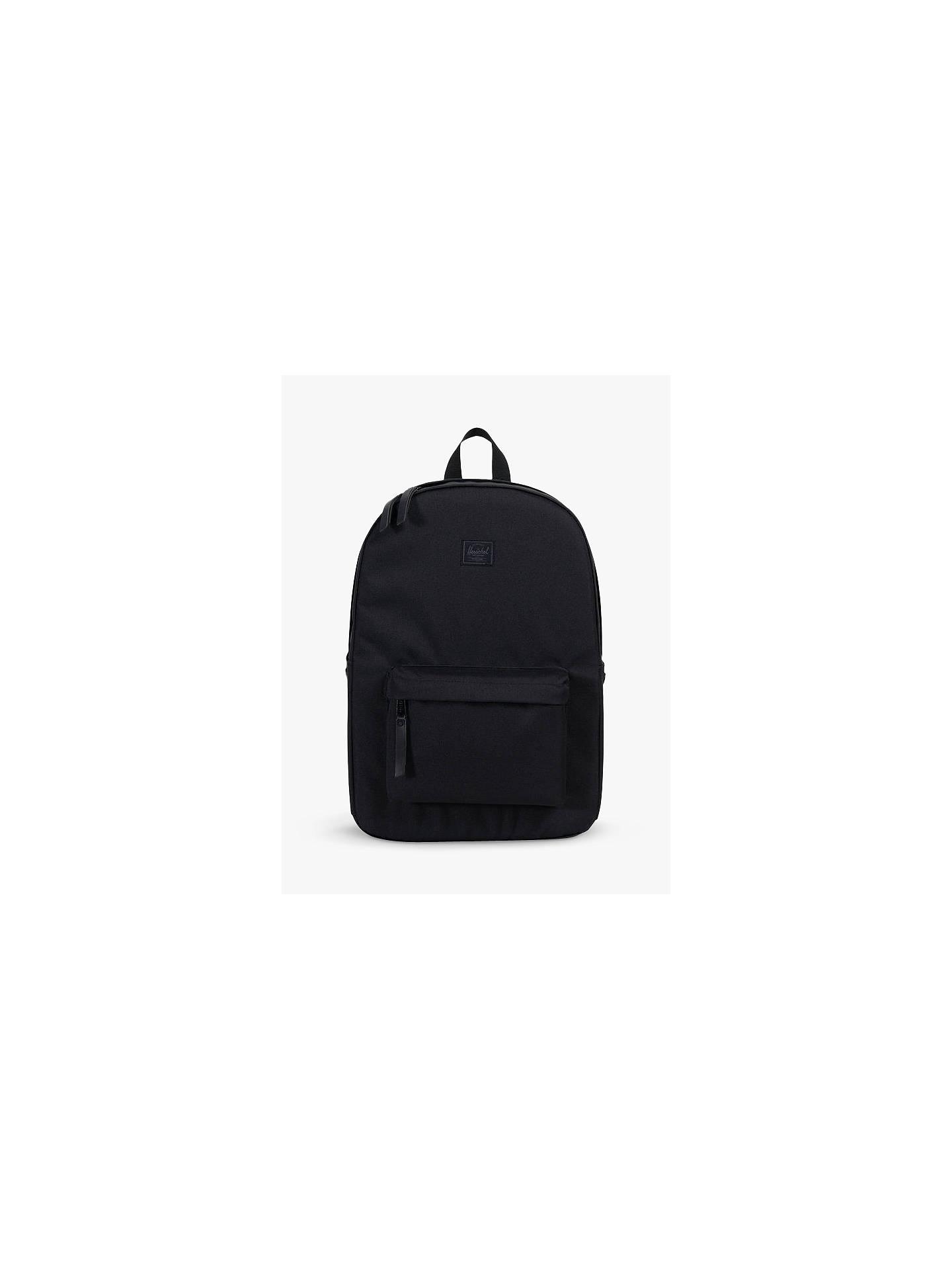 f75cb83835a Buy Herschel Supply Co. Winlaw Backpack, Black Online at johnlewis.com ...