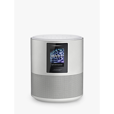 Image of BOSE Home 500 Wireless Voice Controlled Speaker - Silver, Silver