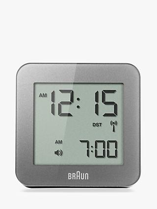 Braun Radio Controlled Global Digital Alarm Clock