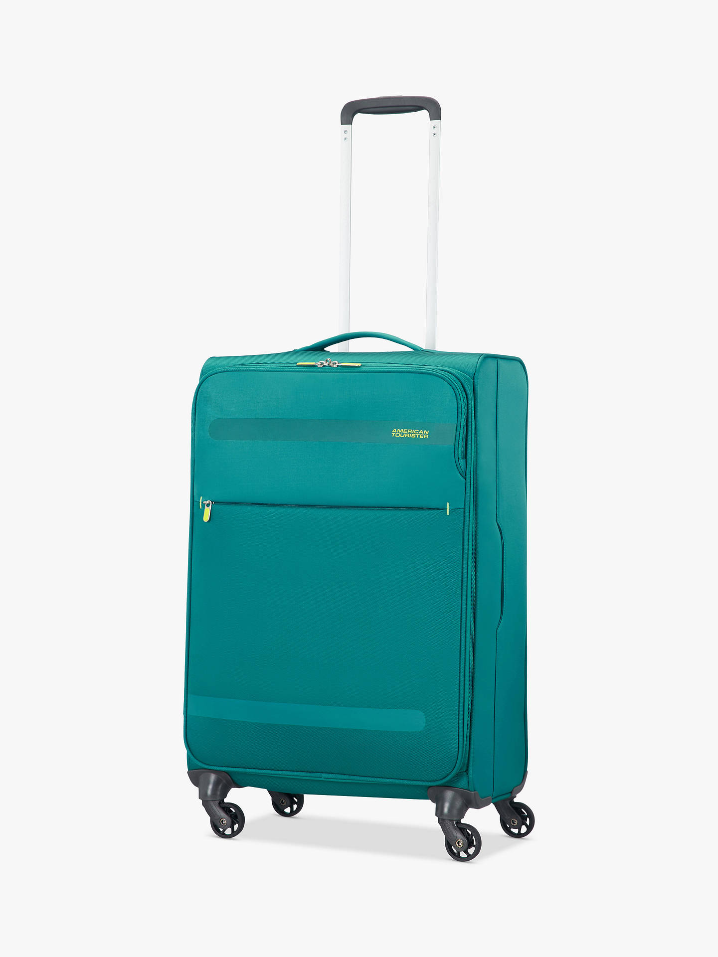 BuyAmerican Tourister Herolite Lifestyle 4-Spinner Wheel 67cm Suitcase, Teal Online at johnlewis.com