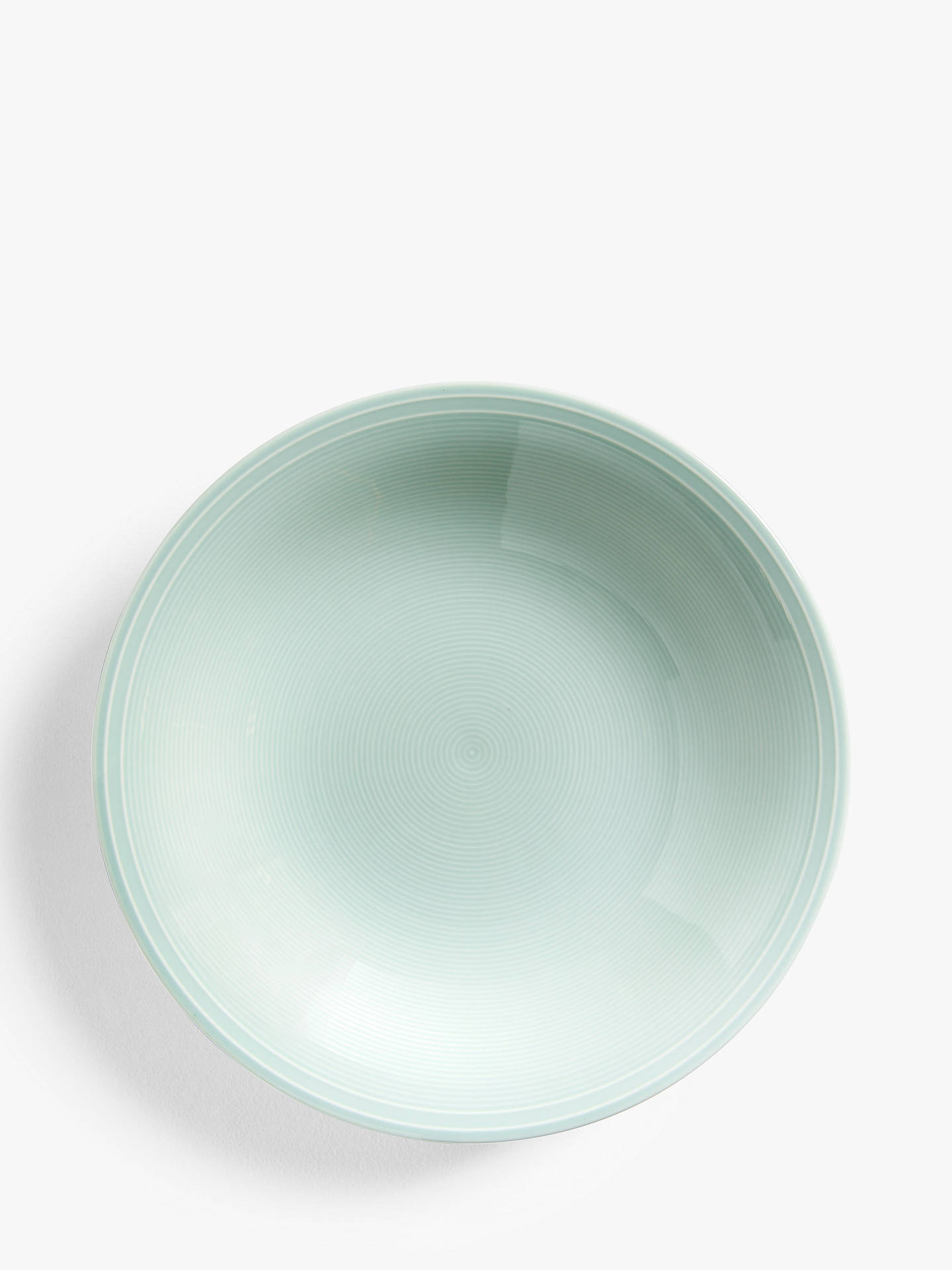 Buy John Lewis & Partners Rhythm Soup Plate, 23cm, Blue Online at johnlewis.com