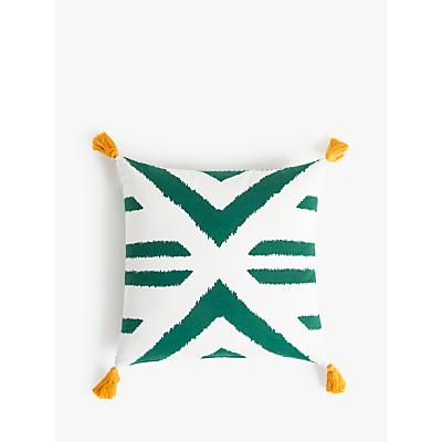 John Lewis & Partners Sonoran Showerproof Outdoor Cushion, 43 x 43cm