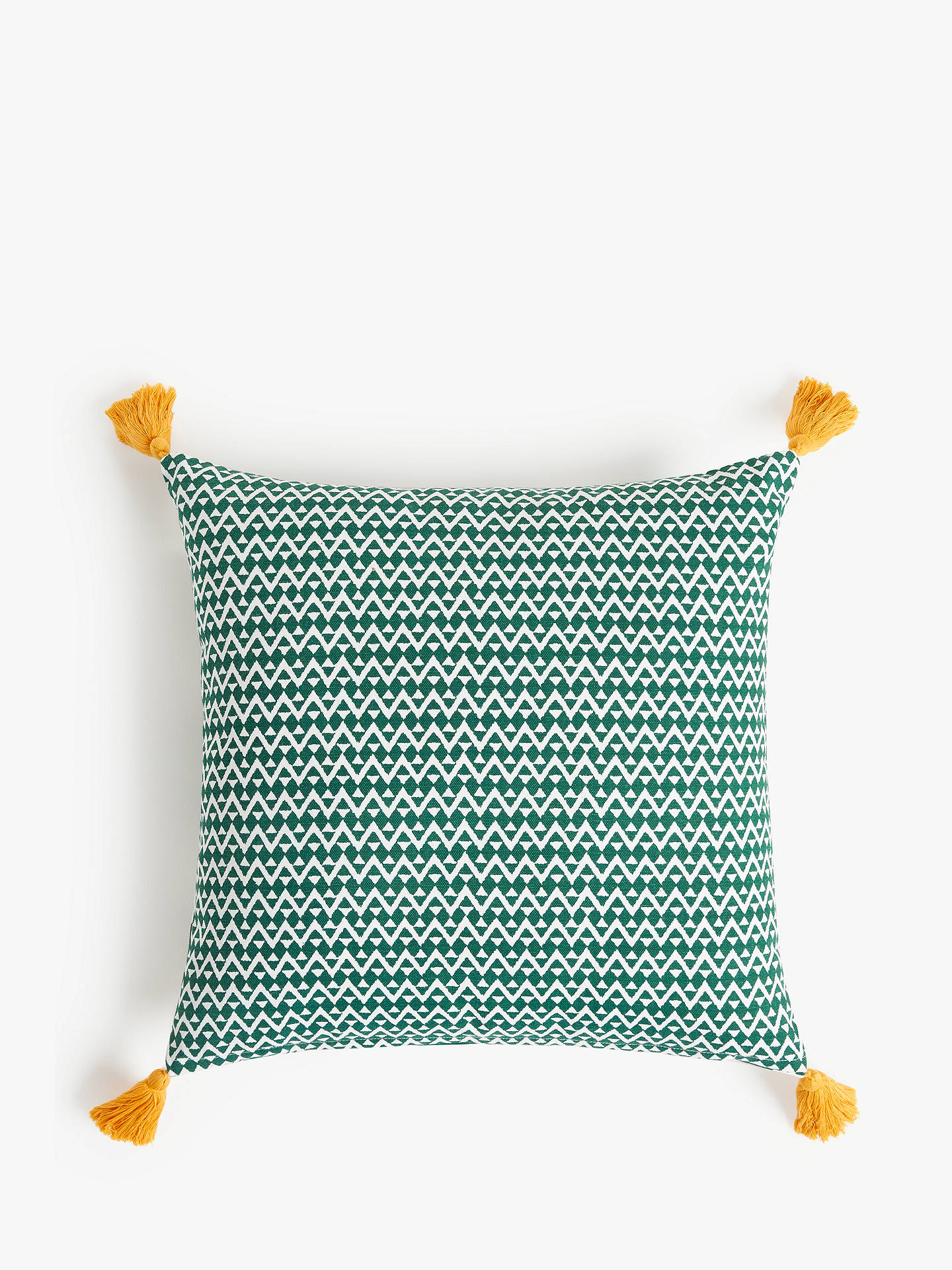 Buy John Lewis & Partners Sonoran Showerproof Outdoor Cushion, 43 x 43cm Online at johnlewis.com