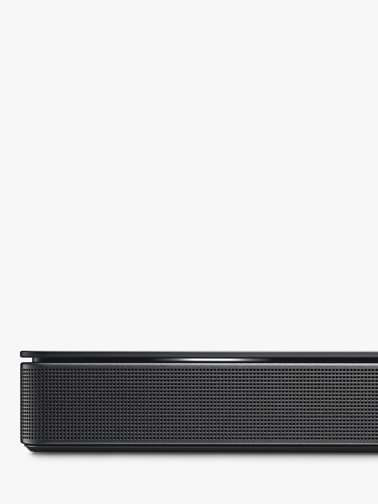 BuyBose® Sound Bar 500 with Wi-Fi, Bluetooth & Alexa Voice Recognition and Control, Black Online at johnlewis.com